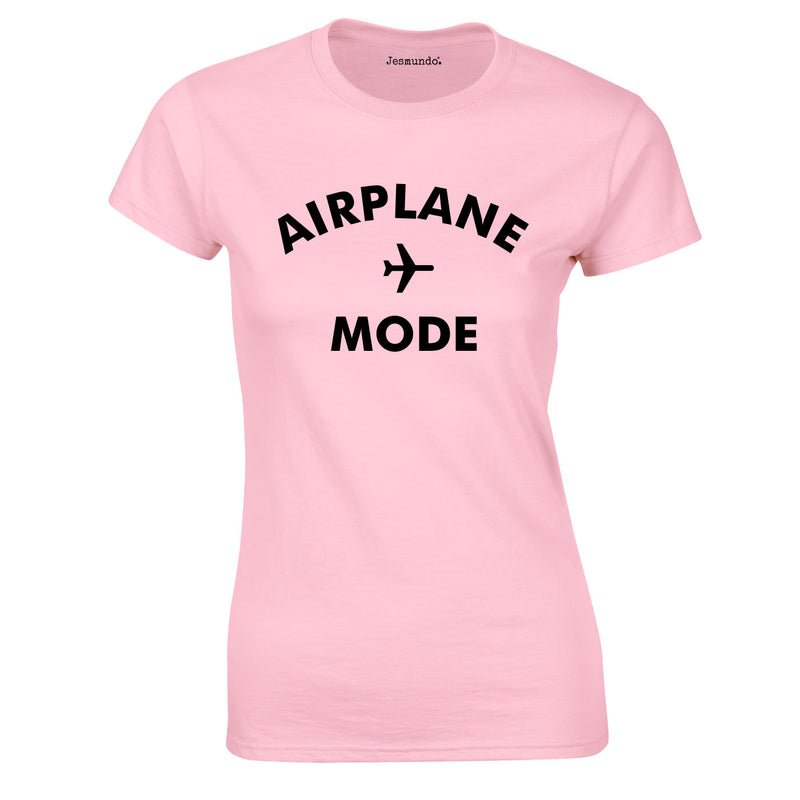Airplane Mode Ladies Top In Pink