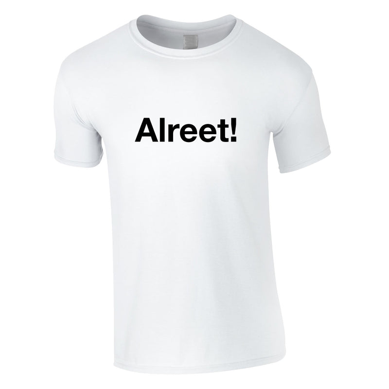 Alreet Tee In White