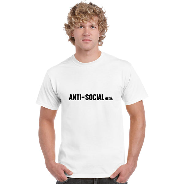 Anti Social Media Men's T Shirt