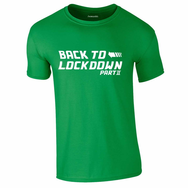 Back To Lockdown Tee In Green