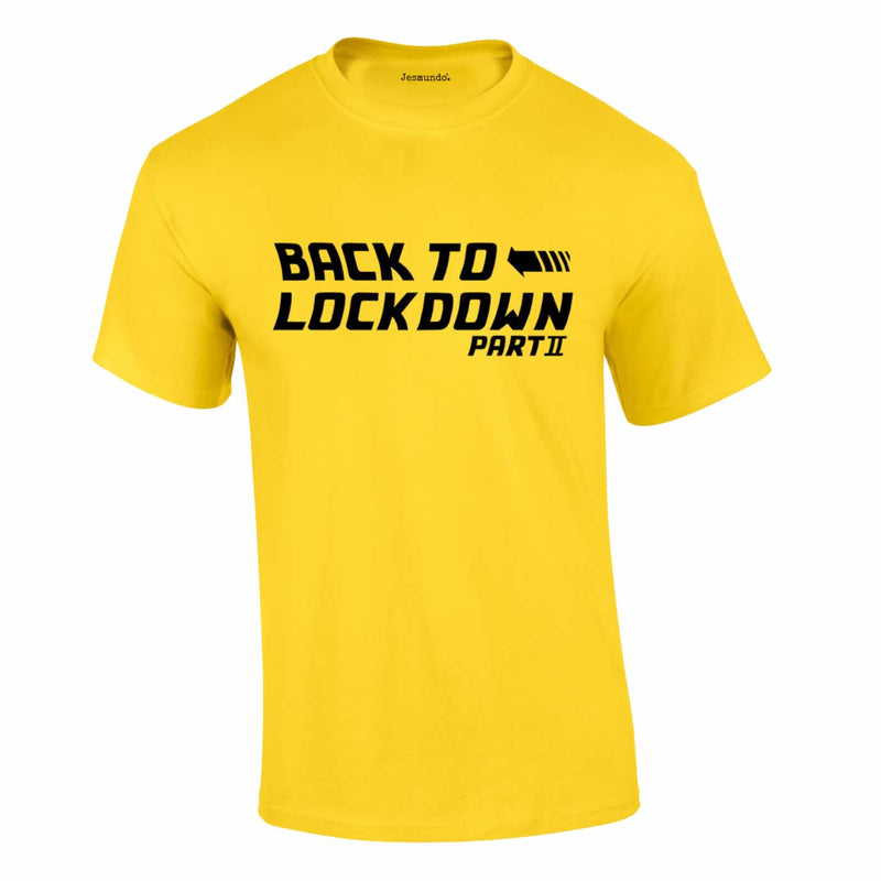 Back To Lockdown Tee In Yellow