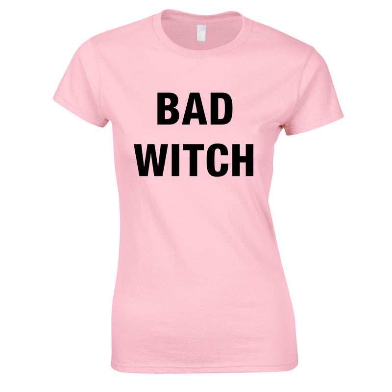 Bad Witch Top In Pink