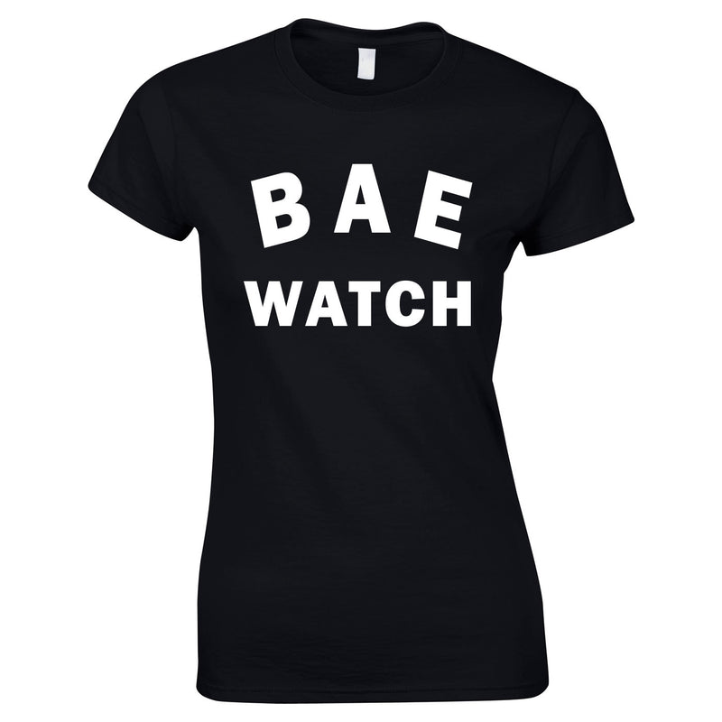 Bae Watch Ladies Top In Black