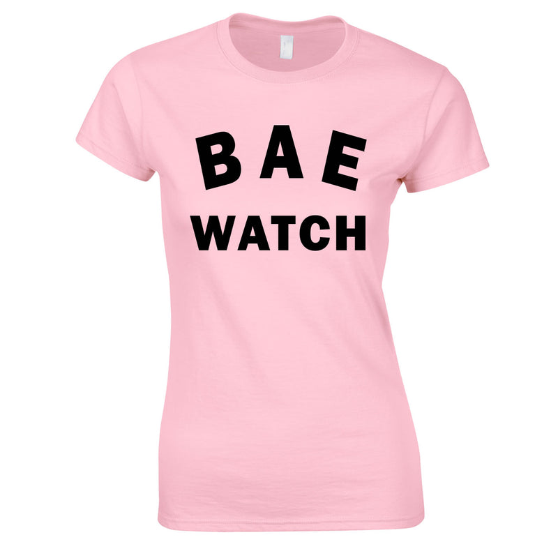Bae Watch Ladies Top In Pink