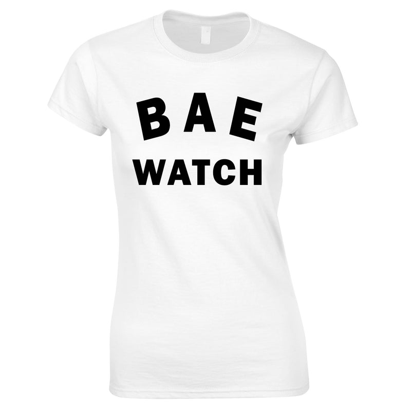 Bae Watch Ladies Top In White