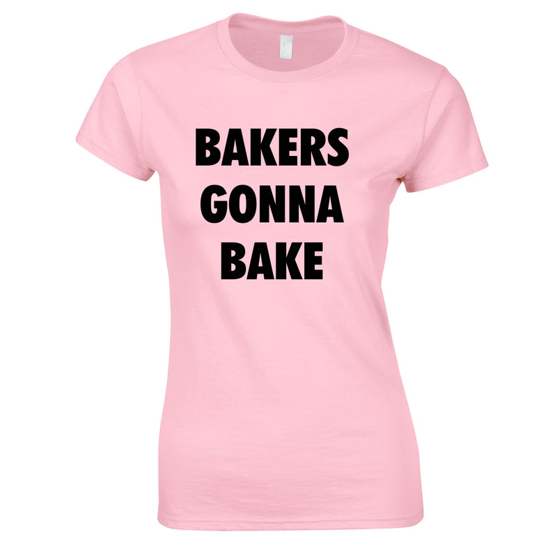 Bakers Gonna Bake Top In Pink