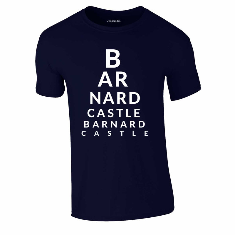 Barnard Castle Tee In Navy