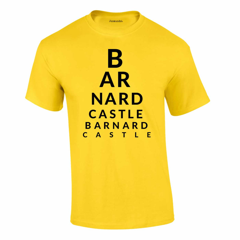 Barnard Castle Tee In Yellow