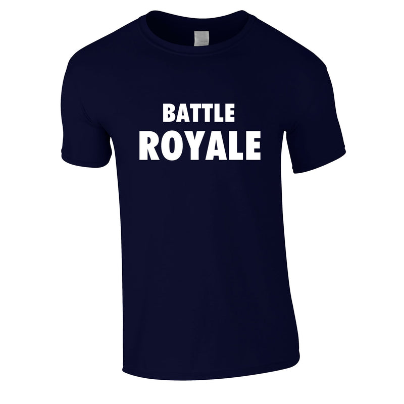 Battle Royale Tee In Navy