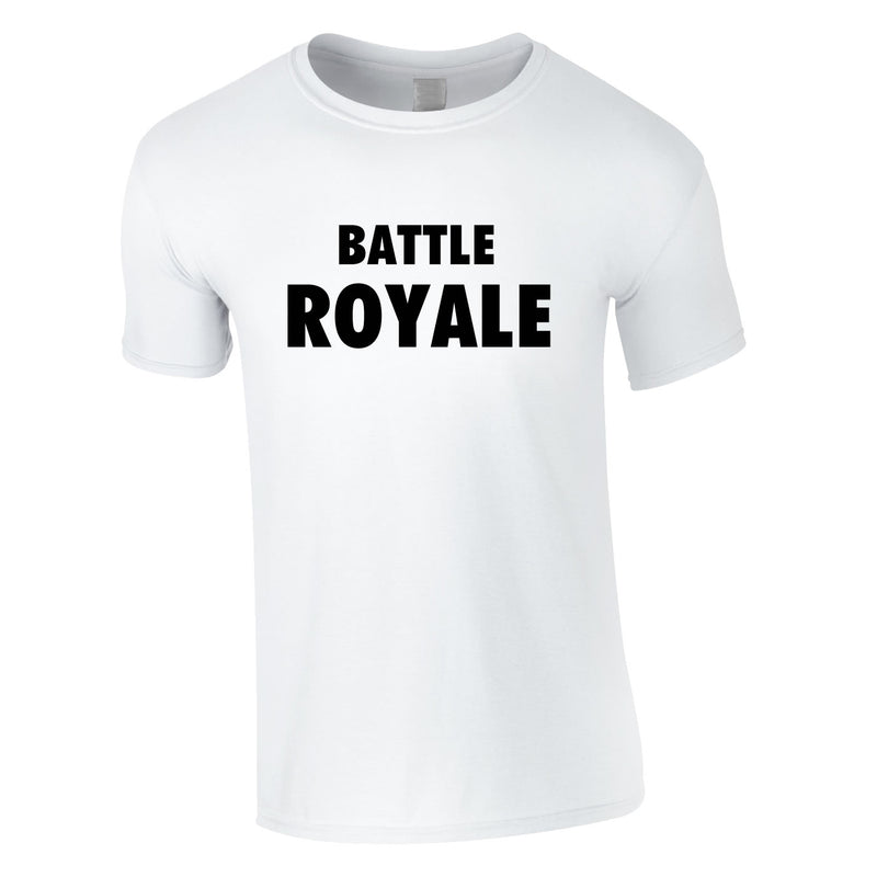 Battle Royale Tee In White