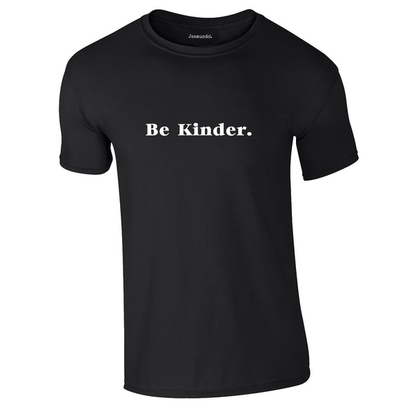 Be Kinder Tee In Black