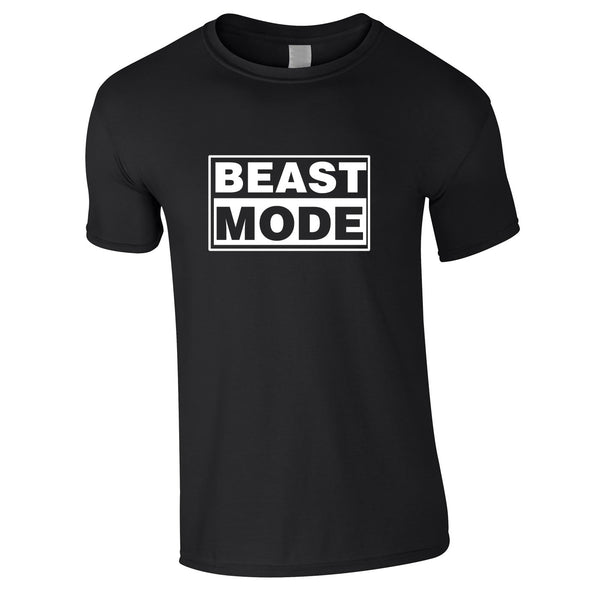Beast Mode Tee In Black