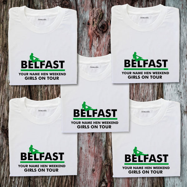 Belfast Hen Weekend T-Shirts