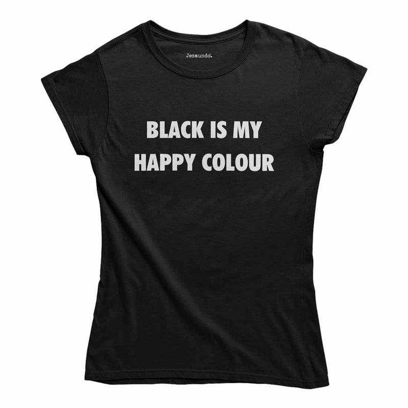 Black Is My Happy Colour Top