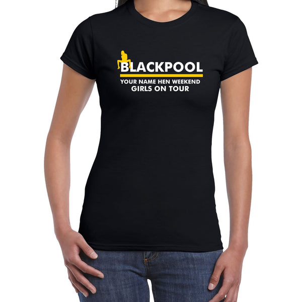 Blackpool Hen Do T Shirts