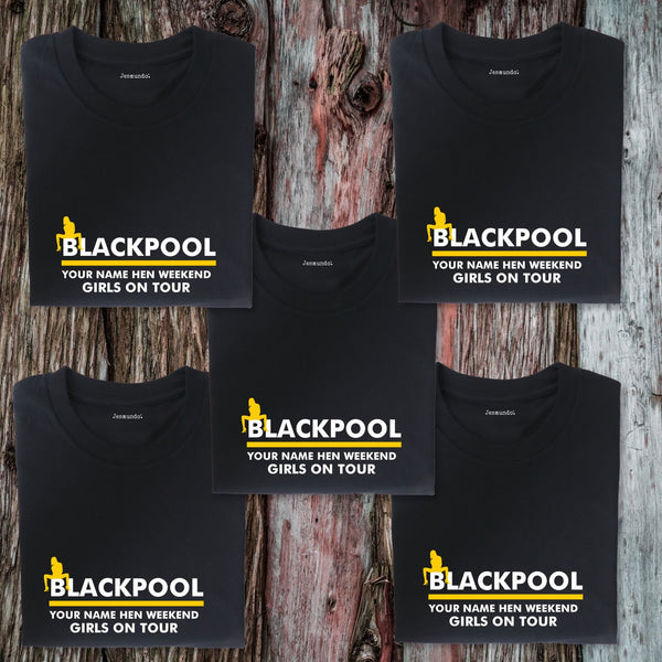 Blackpool Hen Weekend T Shirts