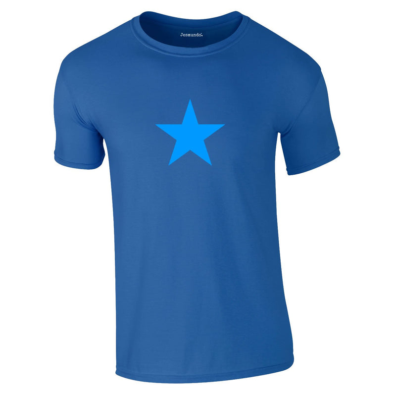 Blue Star Tee In Royal