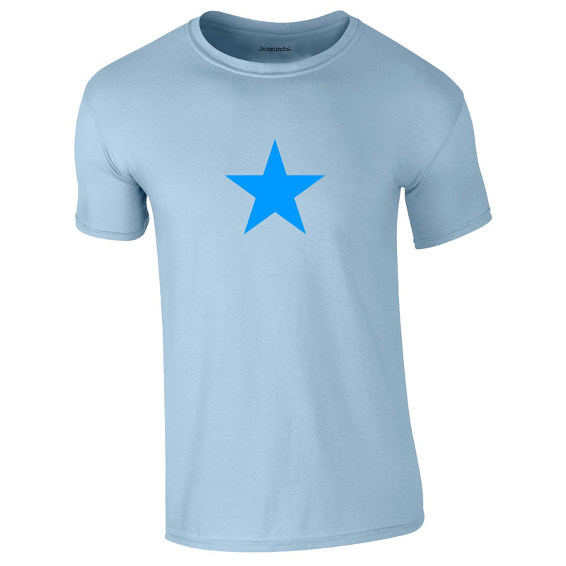 Blue Star Tee In Sky