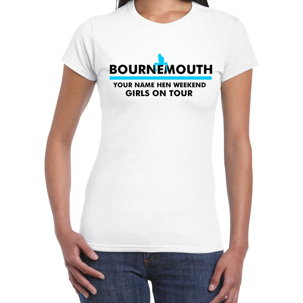Bournemouth Hen Do T Shirts