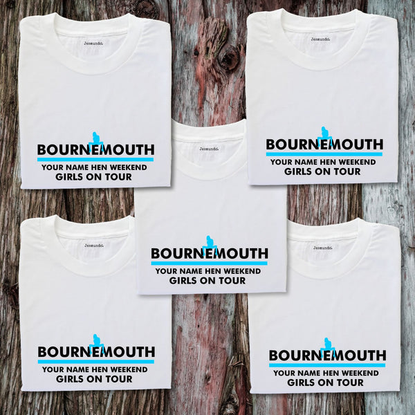 Bournemouth Hen Weekend T Shirts