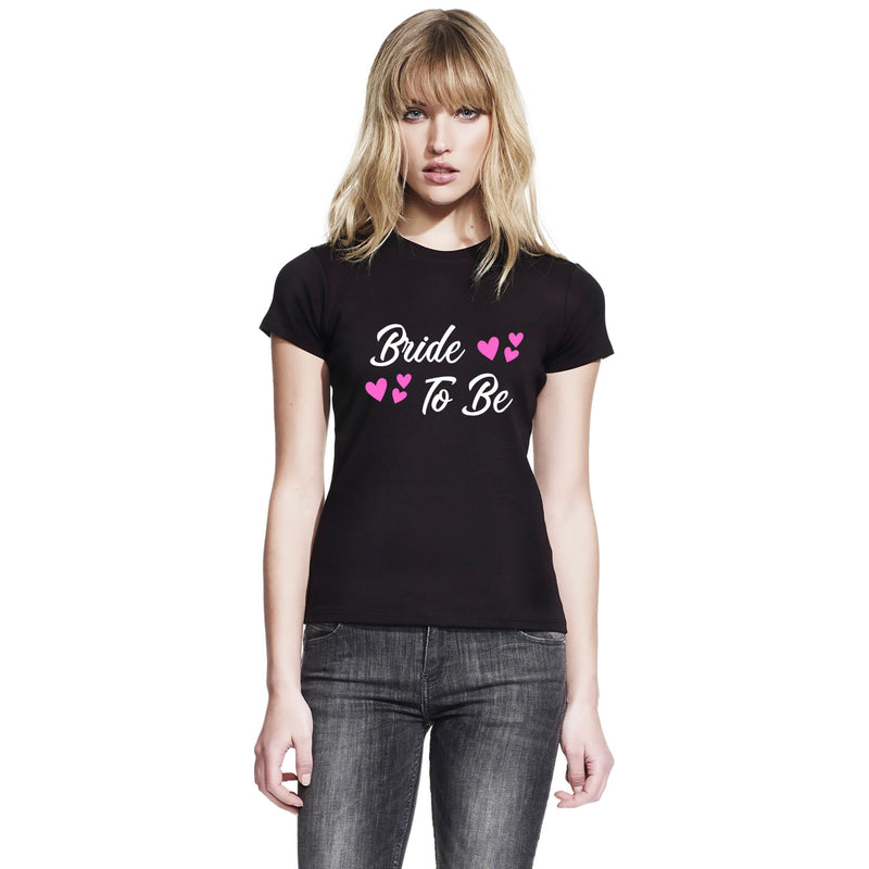 Bride To Be T Shirt Custom Printed