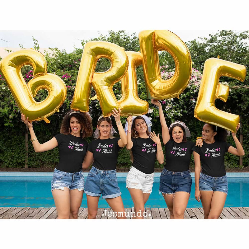 Bride To Be Fancy T Shirts Custom Printed