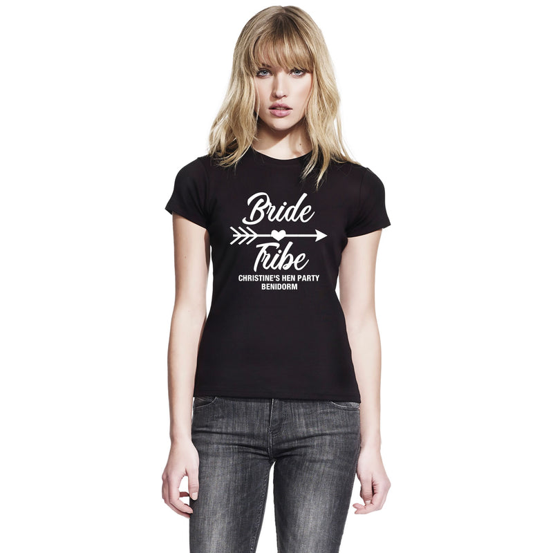 Bride Tribe T Shirts Custom Printed For Hen Do