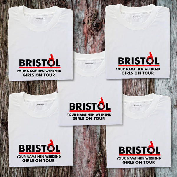 Bristol Hen Weekend T Shirts