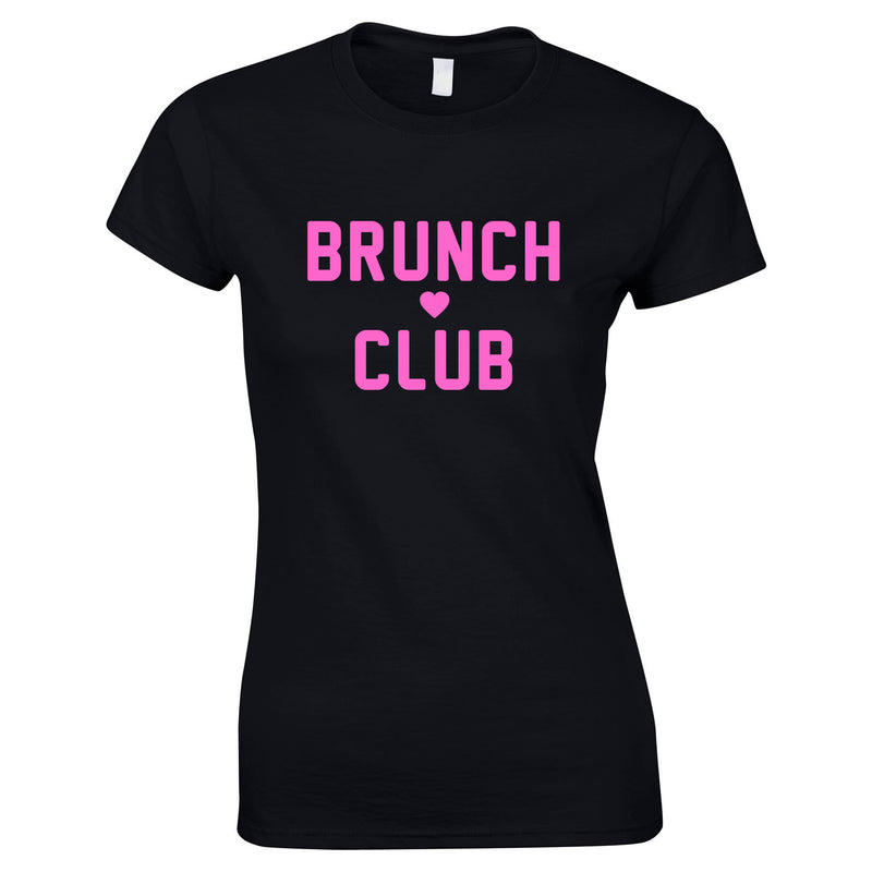 Brunch Club Top In Black