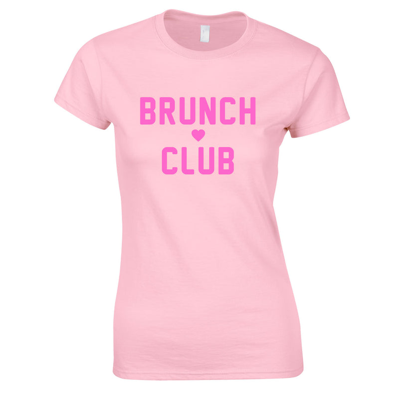 Brunch Club Top In Pink