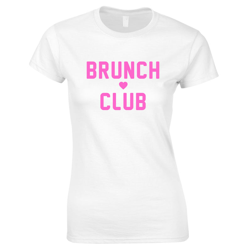 Brunch Club Top In White