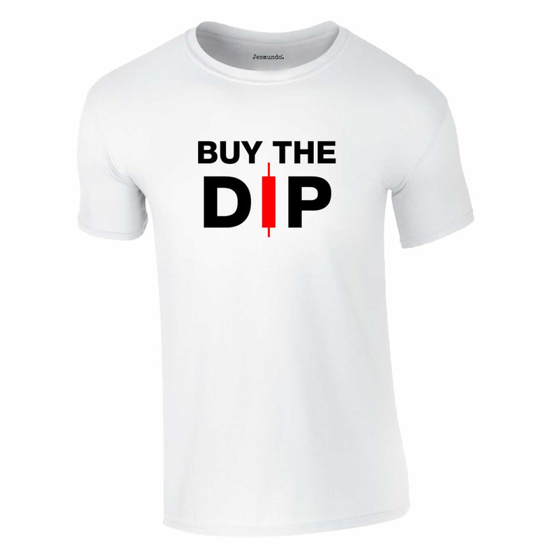 Buy The Dip White T Shirt For Crypto