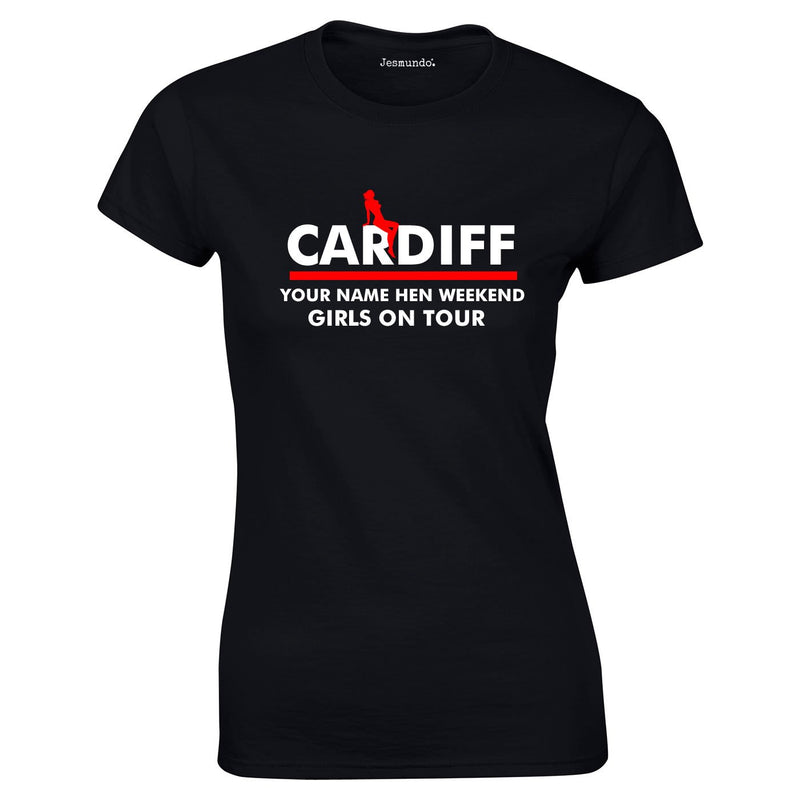 Personalised Cardiff Hen T Shirts
