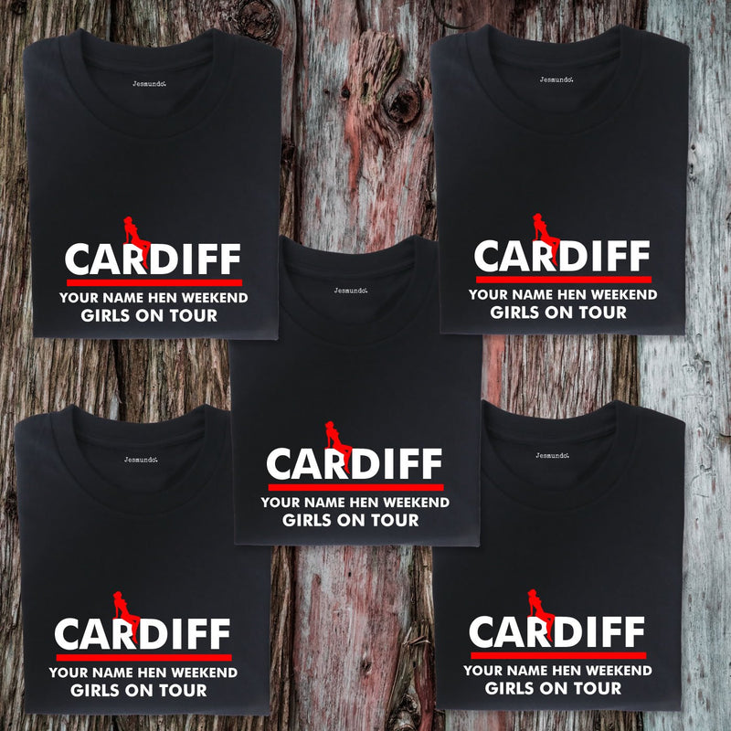 Cardiff Hen Weekend T Shirts