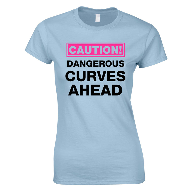 Caution Dangerous Curves Ahead Top In Sky