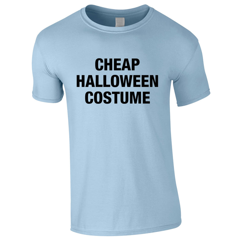 Cheap Halloween Costume Tee In Sky