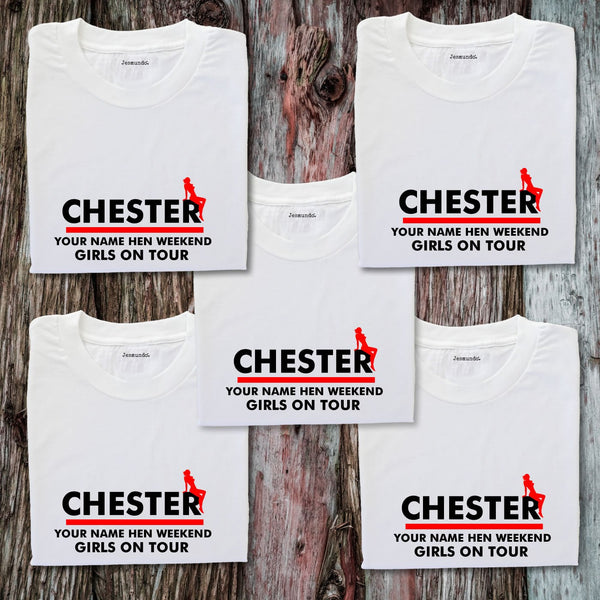 Chester Hen Weekend T-Shirts