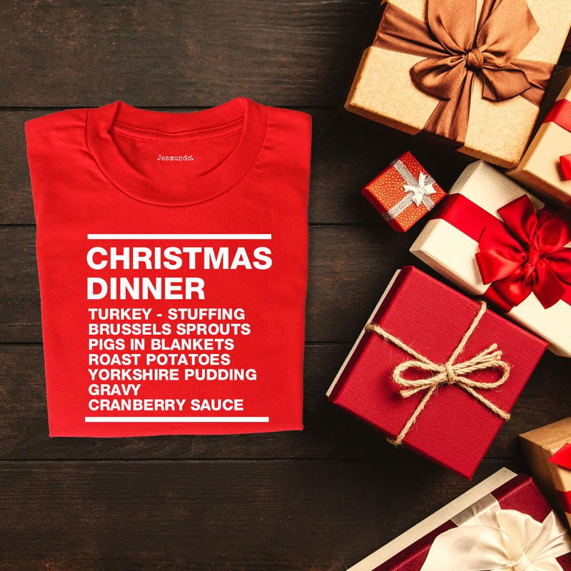 Winner Winner Christmas Dinner T Shirt