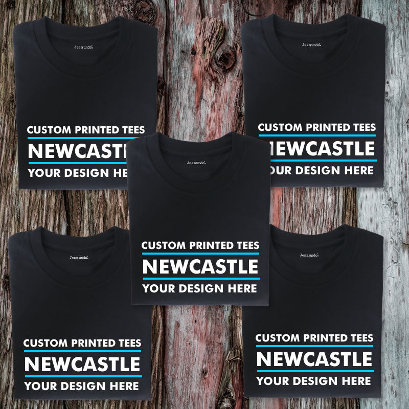 Custom Printed T Shirts In Newcastle