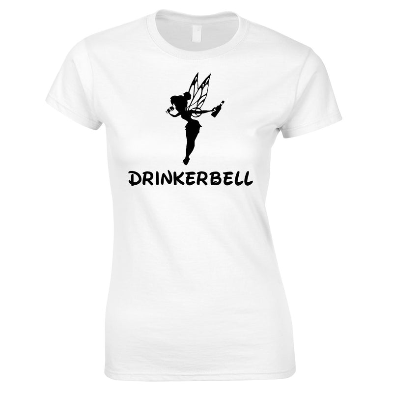 Drinkerbell Women's Top In White
