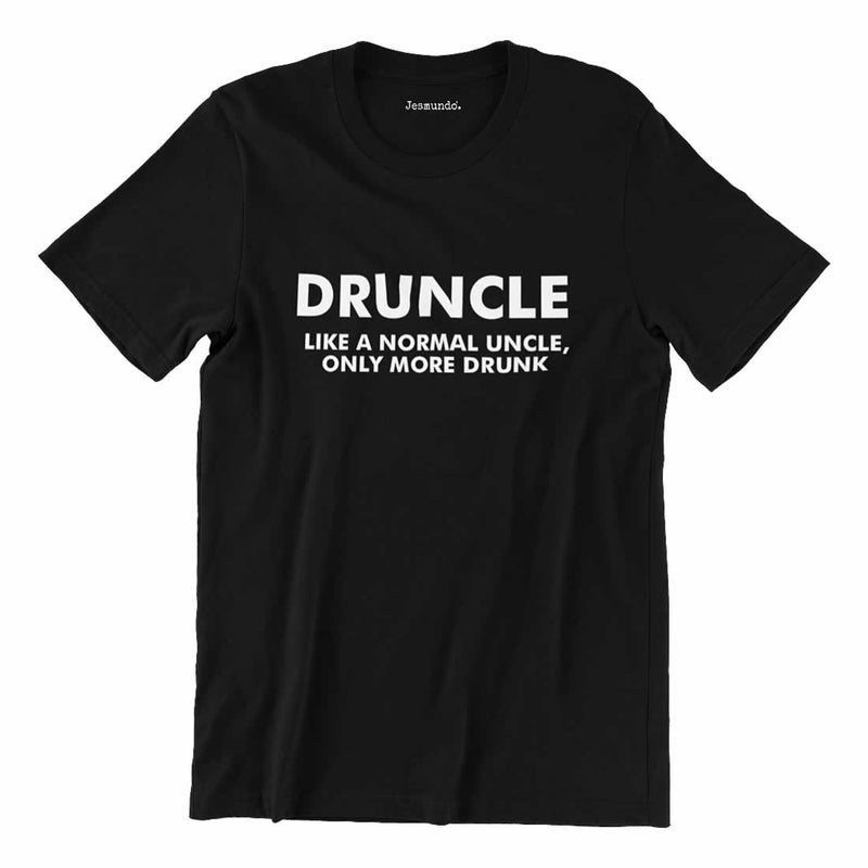 Druncle Printed T-Shirt