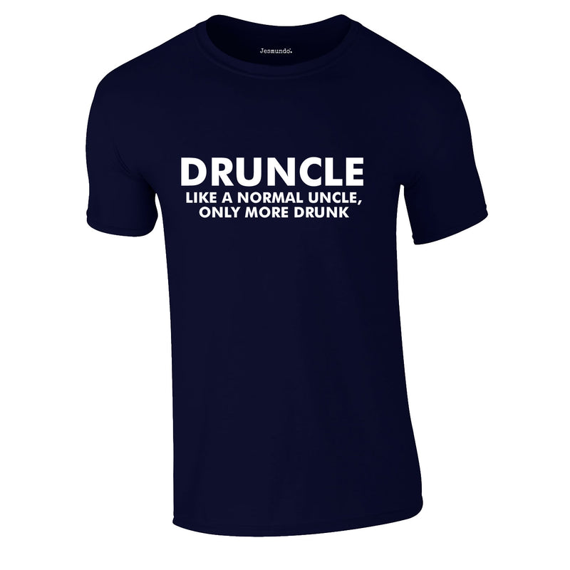 Druncle Tee In Navy