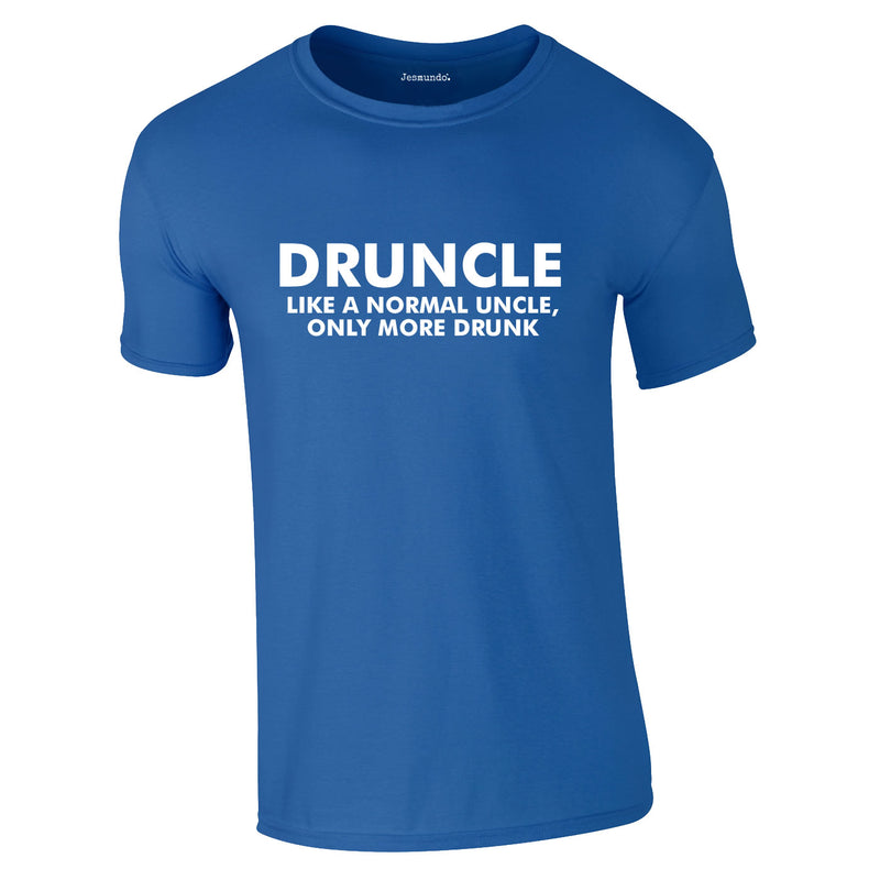 Druncle Tee In Royal
