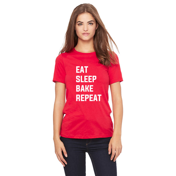 Eat Sleep Bake Repeat T Shirt