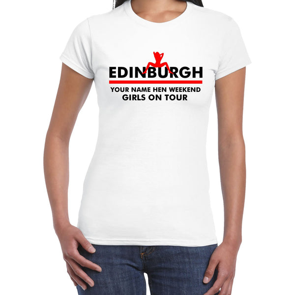 Edinburgh Hen Do T Shirts