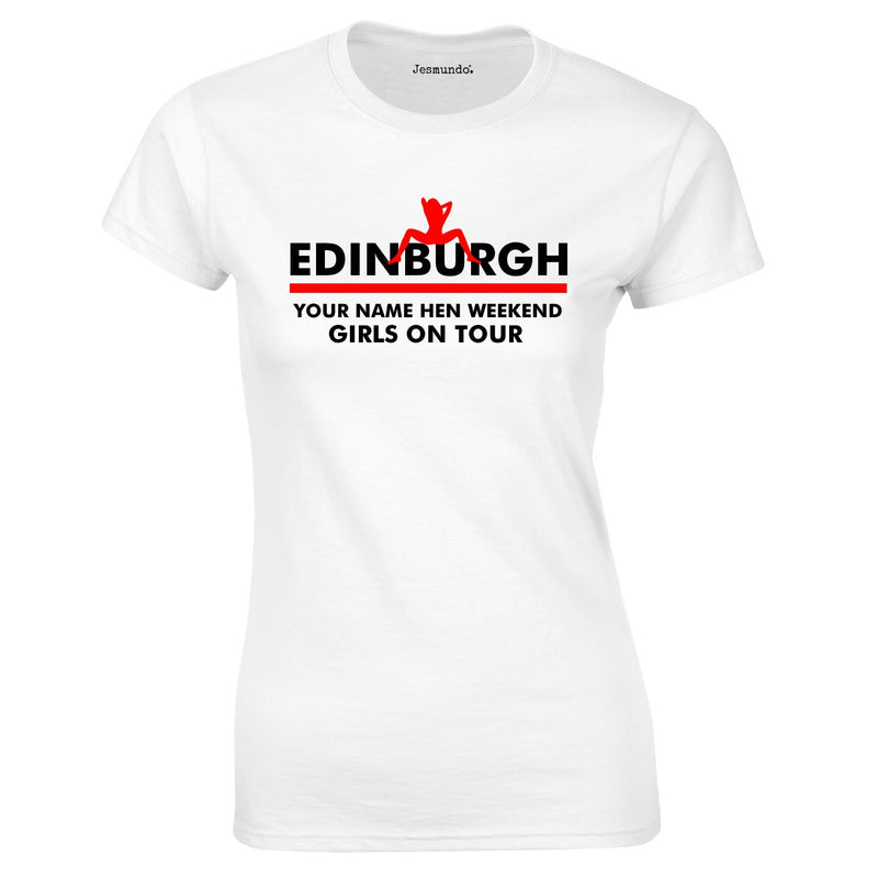 Custom Printed Hen Do T Shirts For Edinburgh