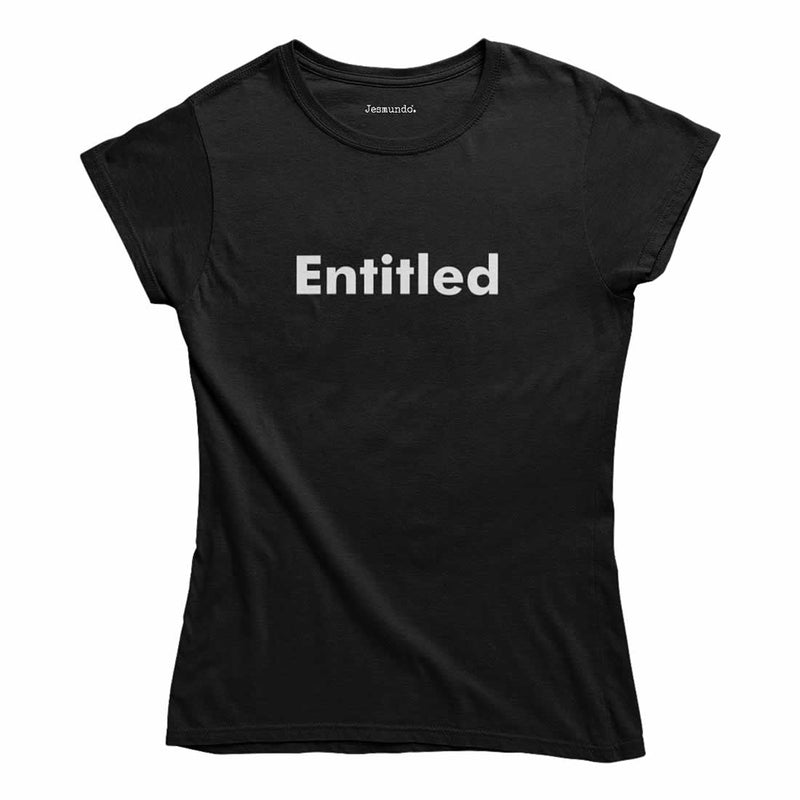 Entitled Women's Top