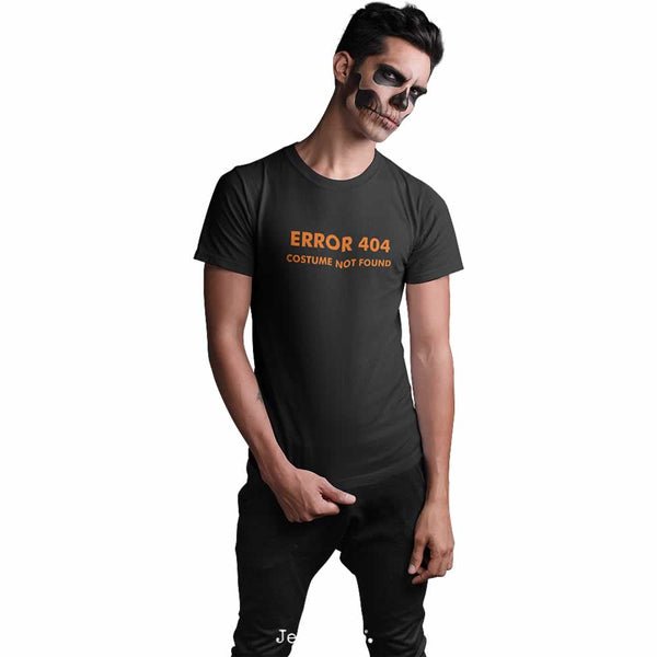 Men's Error 404 Costume Not Found T-Shirt