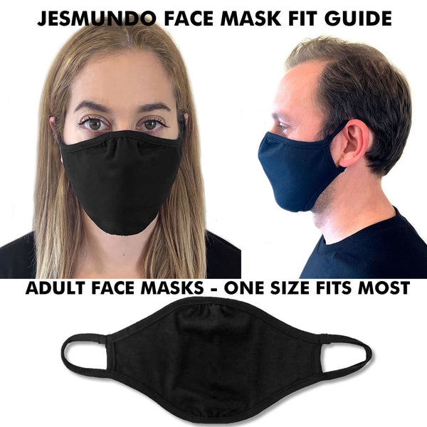 Face Mask Fit Guide At Jesmundo