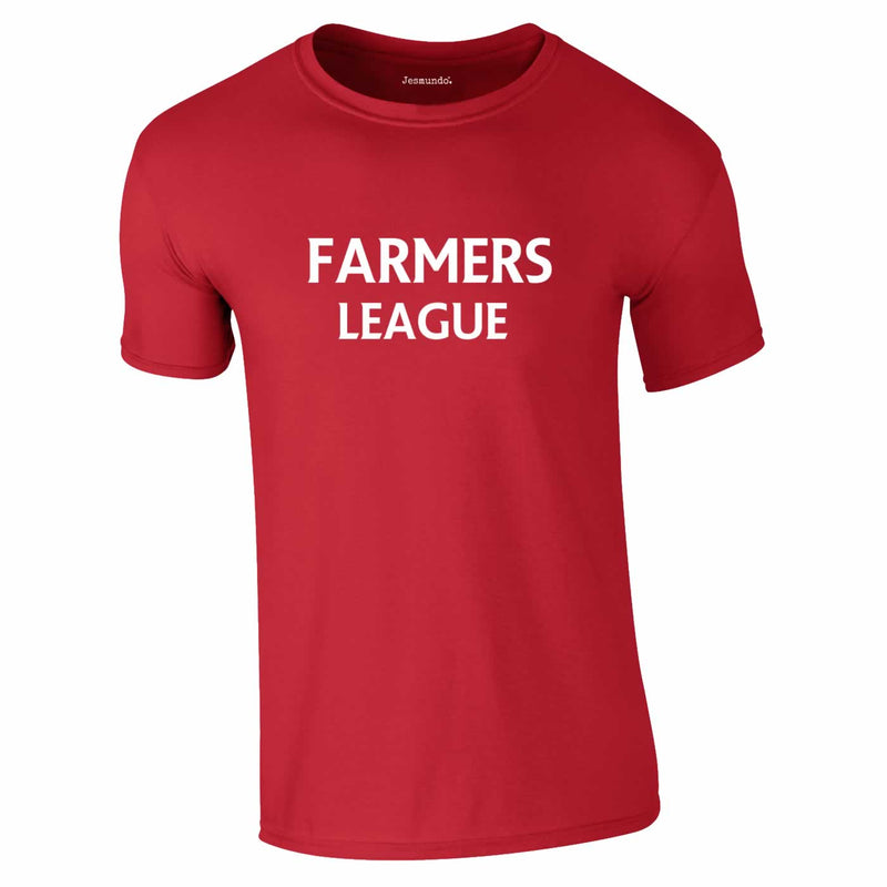 Farmers League Top In Red